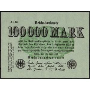 Германия 100 000 марок 1923 - UNC
