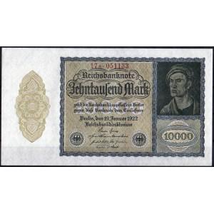 Германия 10000 марок 1922 - UNC