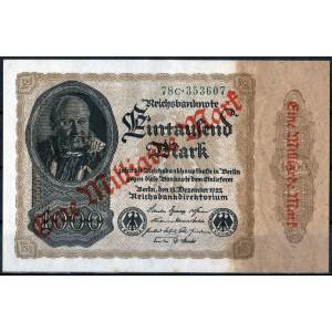 Германия 1 миллиард марок 1923 - UNC