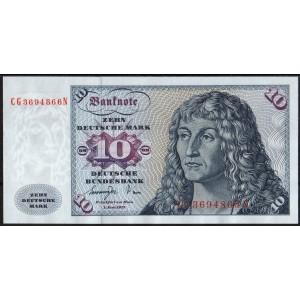 Германия 10 марок 1977 - UNC