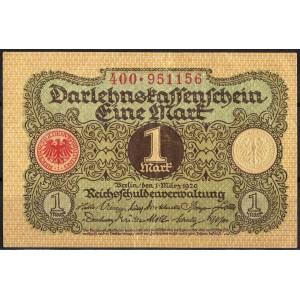 Германия 1 марка 1920 - XF