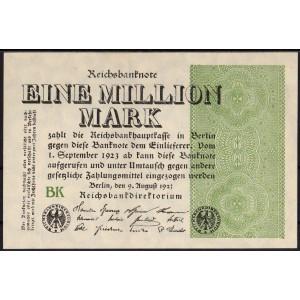 Германия 1 000 000 марок 1923 - UNC
