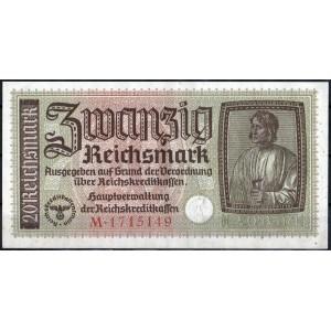 Германия 20 марок 1940 - AUNC