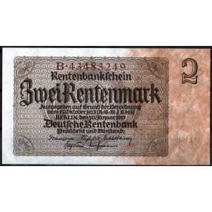 Германия 2 марки 1937 - UNC