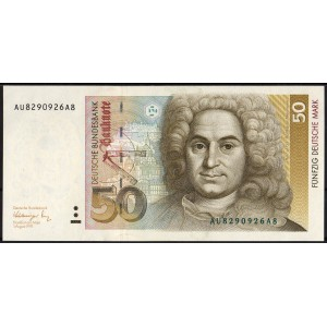 Германия 50 марок 1991 - UNC