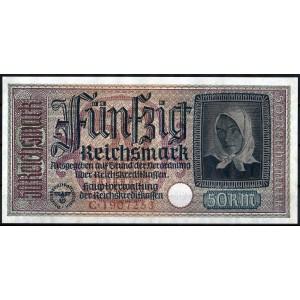 Германия 50 марок 1940 - XF