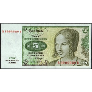Германия 5 марок 1980 - UNC
