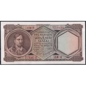 Греция 1000 драхм 1947 - UNC