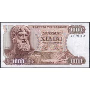 Греция 1000 драхм 1970 - UNC