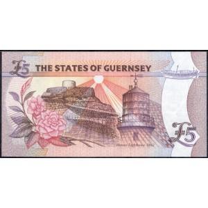 Гернси 5 фунтов 1996 - UNC