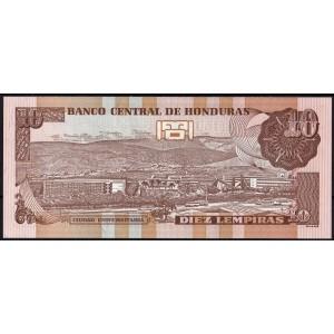 Гондурас 10 лемпир 2008 - UNC