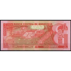 Гондурас 1 лемпира 2010 - UNC