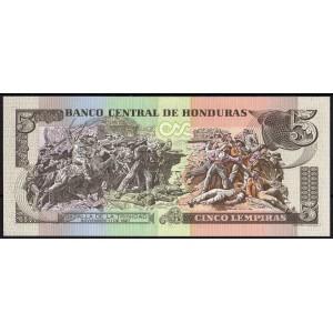 Гондурас 5 лемпир 2010 - UNC