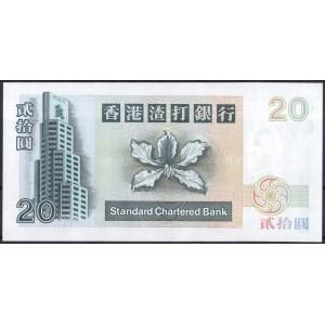 Гонконг 20 долларов 1996 - UNC