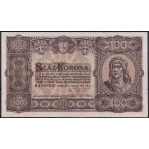 Венгрия 100 крон 1923 - UNC