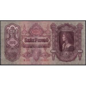 Венгрия 100 пенге 1930 - UNC