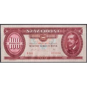 Венгрия 100 форинтов 1989 - UNC