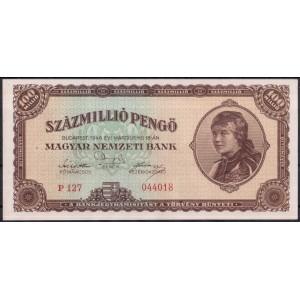 Венгрия 100000000 пенге 1946 - UNC