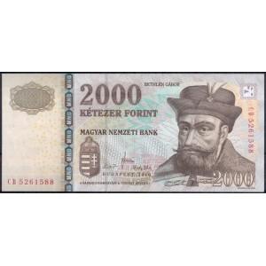 Венгрия 2000 форинтов 2010 - UNC