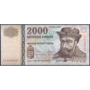 Венгрия 2000 форинтов 2013 - UNC