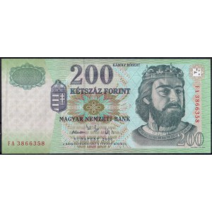 Венгрия 200 форинтов 2006 -AUNC