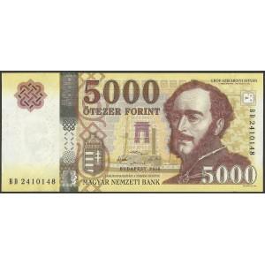 Венгрия 5000 форинтов 2016 - UNC
