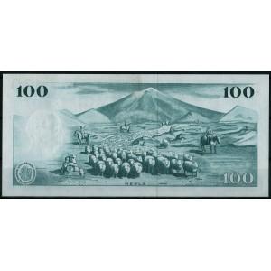 Исландия 100 крон 1961 - UNC