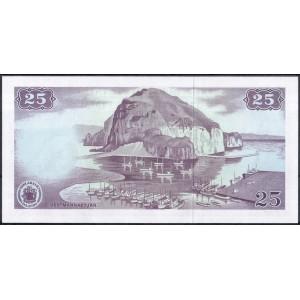Исландия 25 крон 1961 - UNC