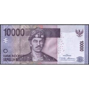 Индонезия 10000 рупий 2010 - UNC