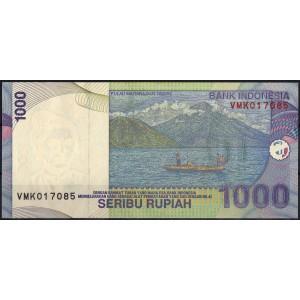 Индонезия 1000 рупий 2009 - UNC