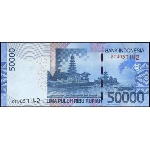 Индонезия 50000 рупий 2015 - UNC