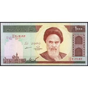 Иран 1000 риалов 1992 - UNC