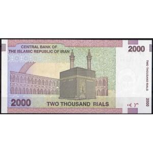 Иран 2000 риалов 2005 - UNC