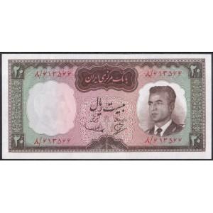 Иран 20 риалов 1965 - UNC