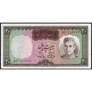 Иран 20 риалов 1969 - UNC