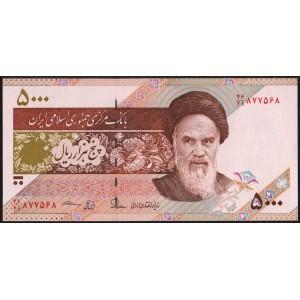 Иран 5000 риалов 2013 - UNC