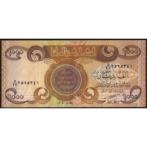 Ирак 1000 динаров 2003 - XF