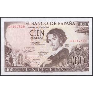 Испания 100 песет 1965 - UNC