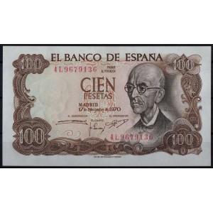 Испания 100 песет 1970 - UNC