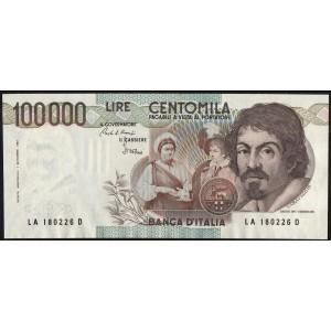 Италия 100000 лир 1983 - UNC