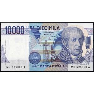 Италия 10000 лир 1984 - AUNC