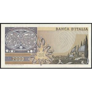 Италия 2000 лир 1983 - UNC