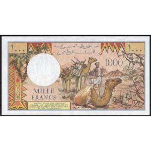 Джибути 1000 франков 1979 - UNC