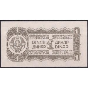 Югославия 1 динар 1944 - UNC