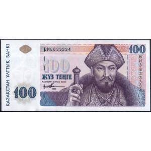 Казахстан 100 тенге 1993 - UNC