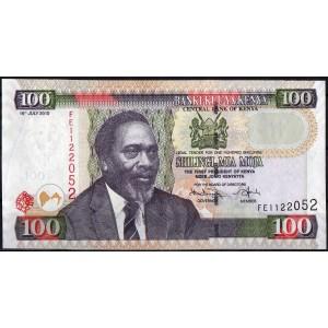 Кения 100 шиллингов 2010 - UNC