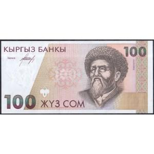 Киргизия 100 сом 1994 - UNC
