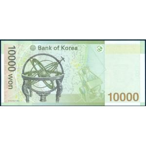 Корея 10000 вон 2007 - UNC