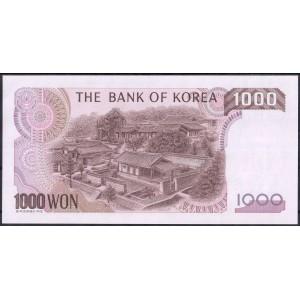 Корея 1000 вон 1983 - UNC