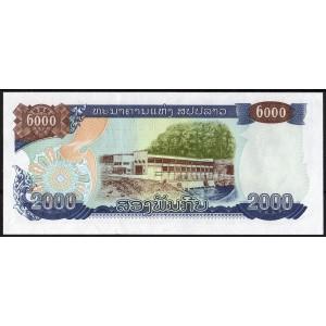 Лаос 2000 кип 1997 - UNC